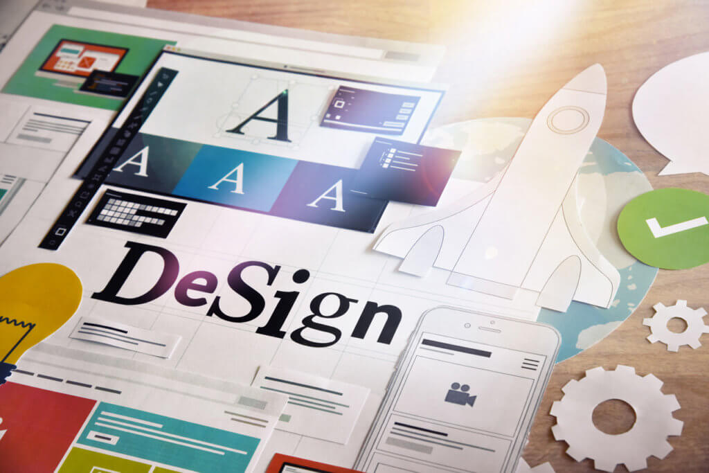 Design und Struktur Ihrer Webseite