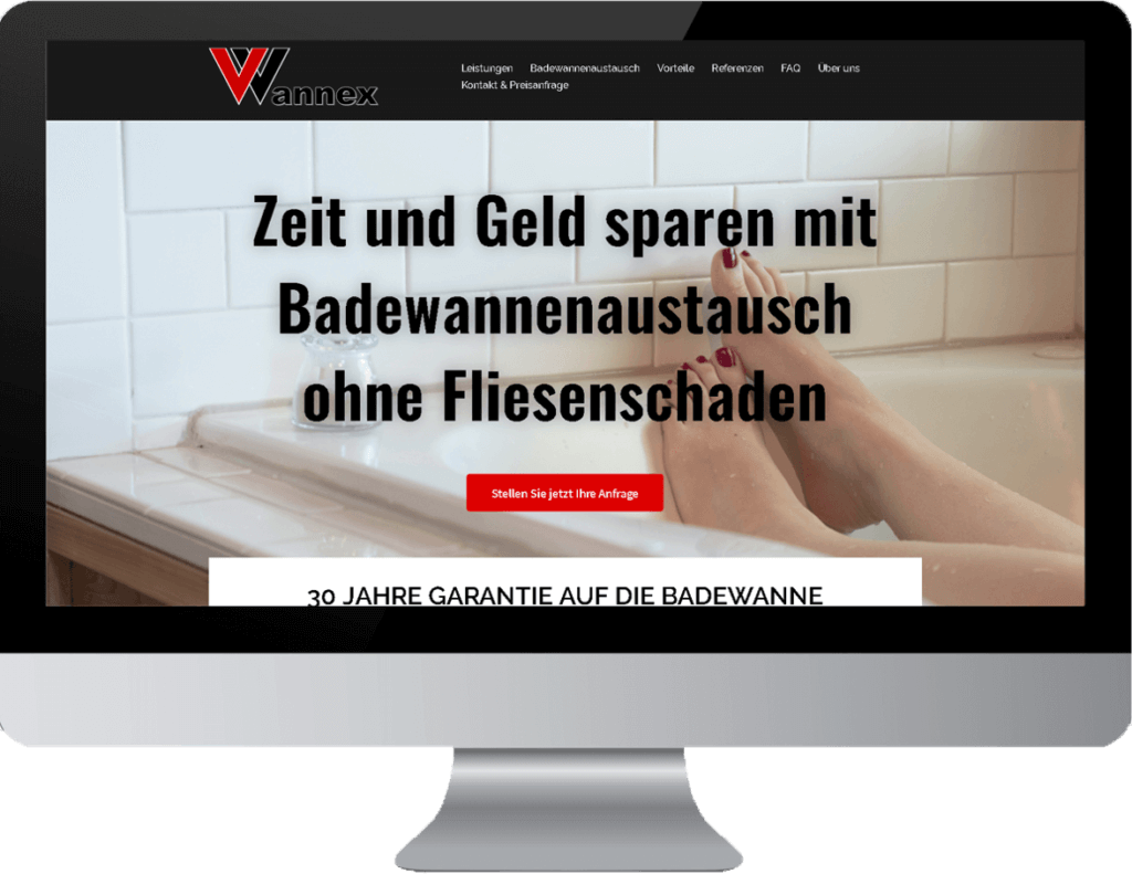 Website Erstellung Sanitär