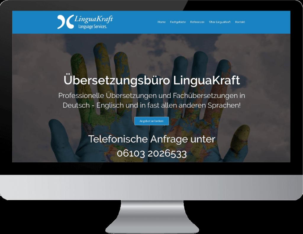 Website Erstellung Übersetzungsbüro